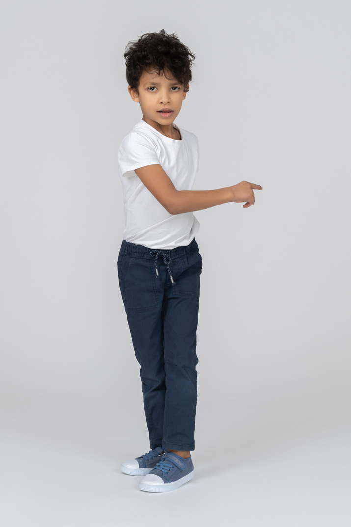 A dancing boy