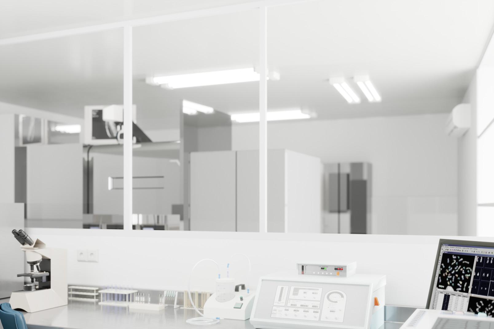 Medical laboratory room