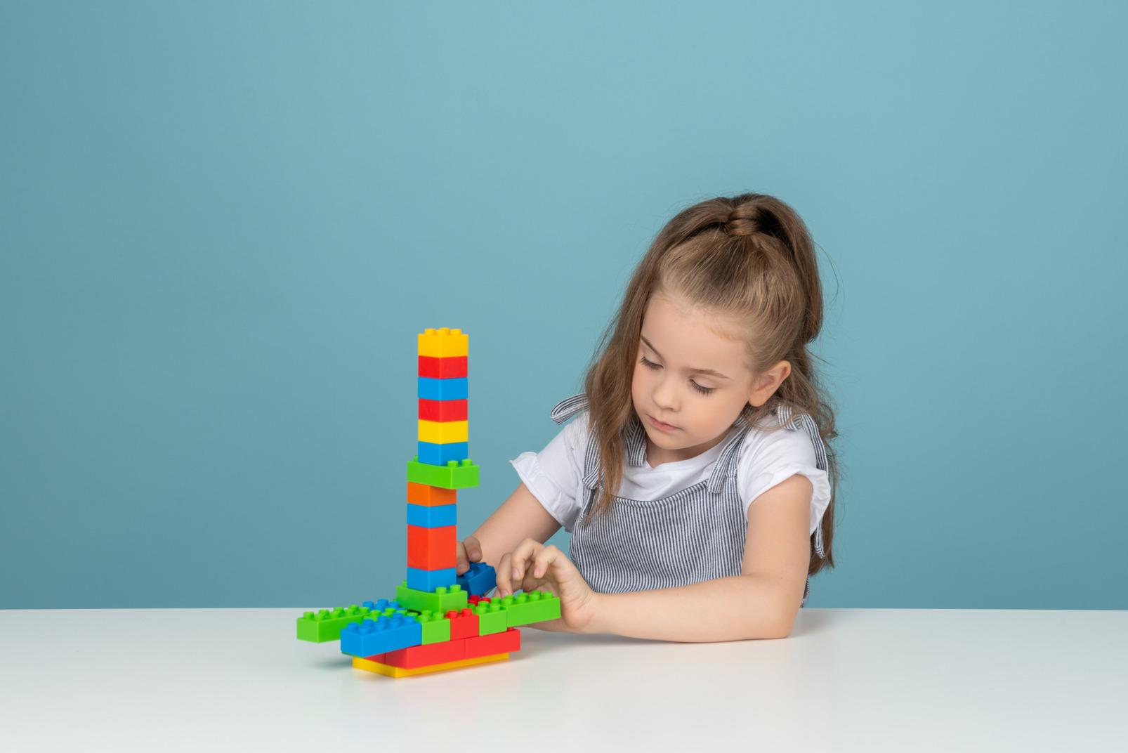 Mädchen bauen auch gerne!