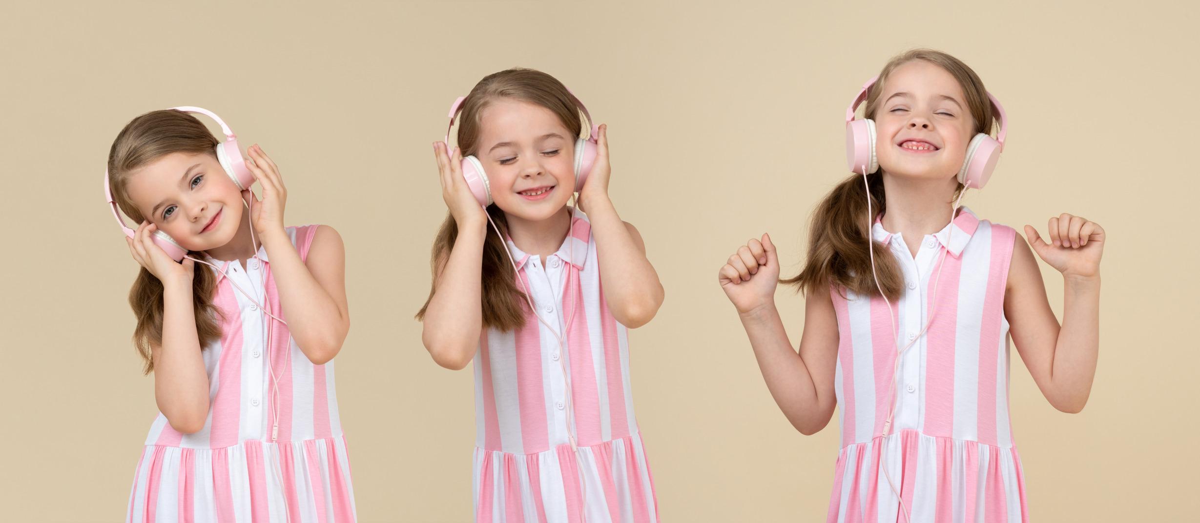Dieses kind mag die musik sehr