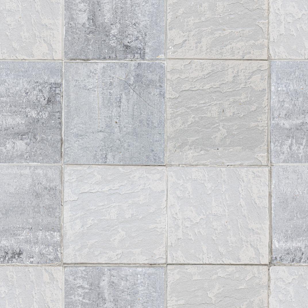 Gray tiles texture